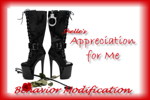 Behavior Modification - Appreciation for ME