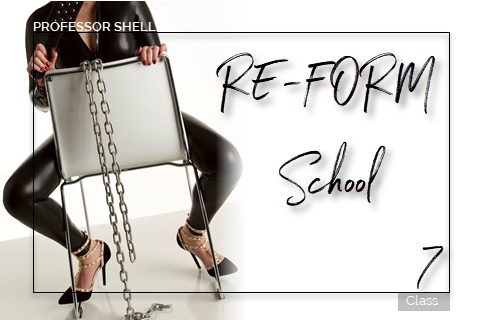Professor Shelle's ReForm School - Class #7
